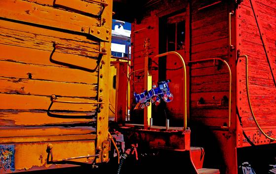 Portola train spirit