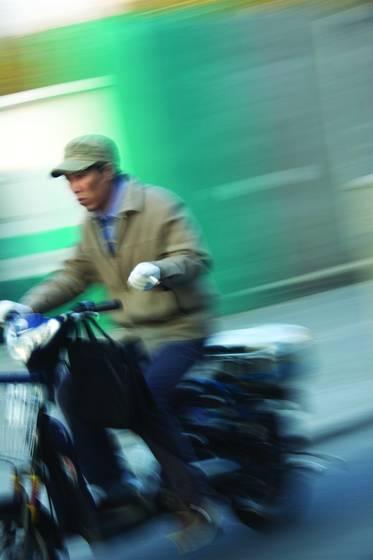 Beijing biker