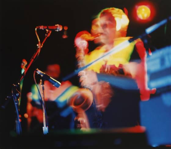Stuart on stage