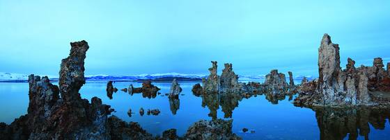 Even tufa get the blues