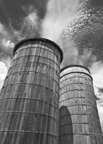 Timber silos