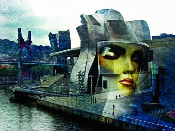 Guggenheim sphinx