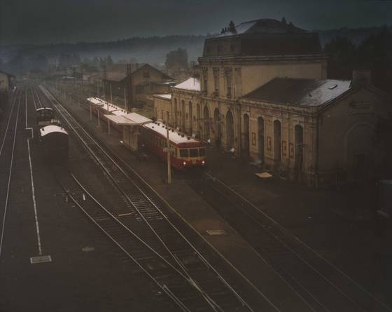 Down at the station