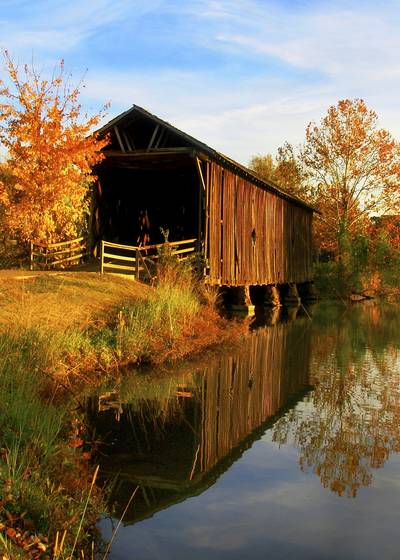 Alamucha covered bridge