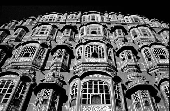 India palace facade