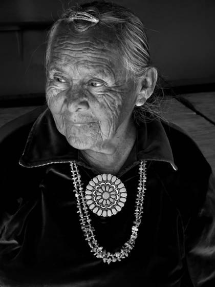 Nora wise navajo elder