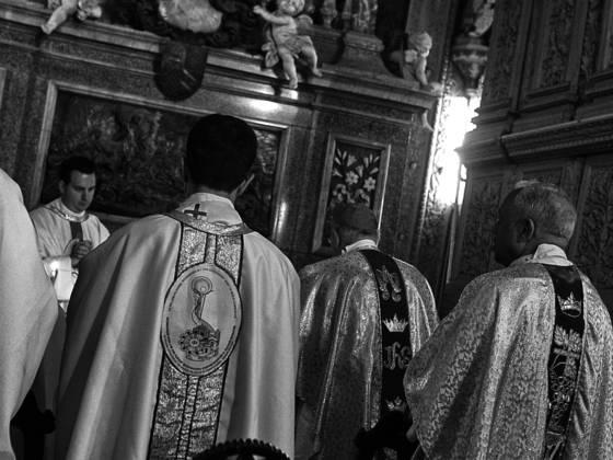 Visiting priests