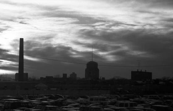 Junkyard skyline