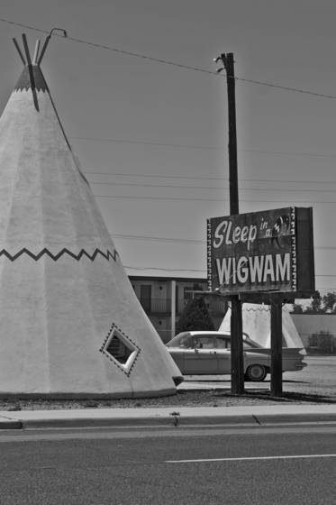 Sleep in a wigwam route 66