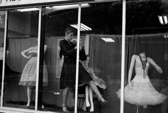 The window dresser