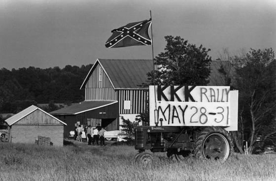 Kkk rally tractor