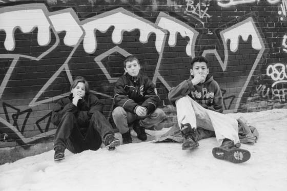 The graffiti generation