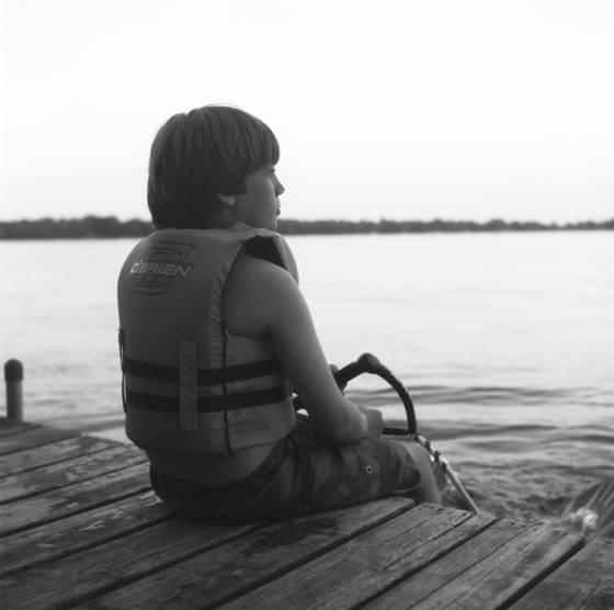 Ian waiting