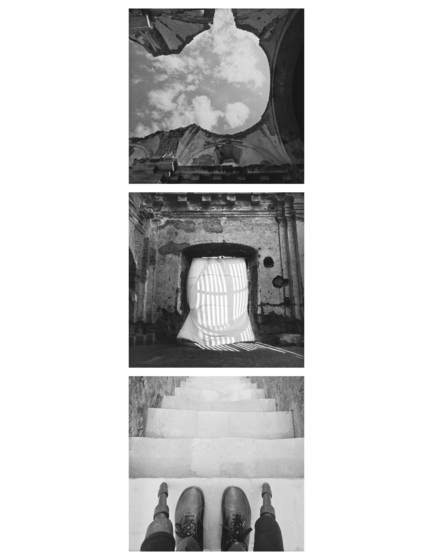 Sense of place  triptych