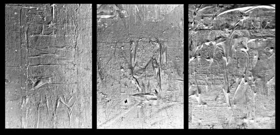 3 gray panels
