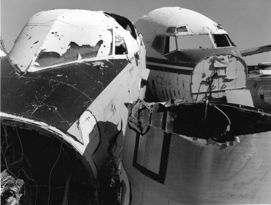 Aircraft salvage 3