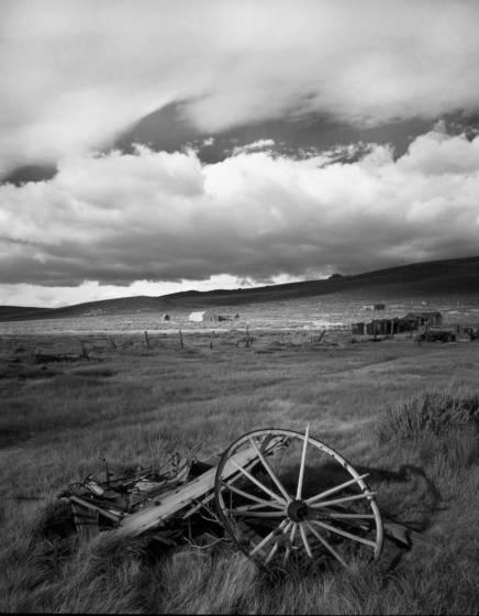 Bodie hillside
