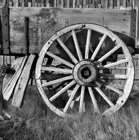 Wheel at bodie