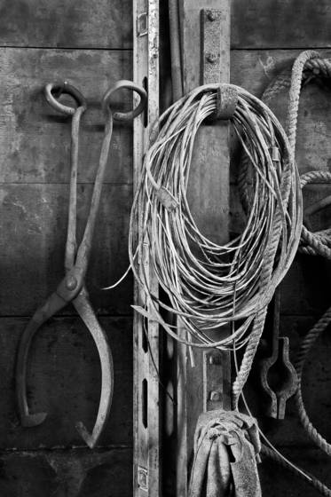 Wire and tongs