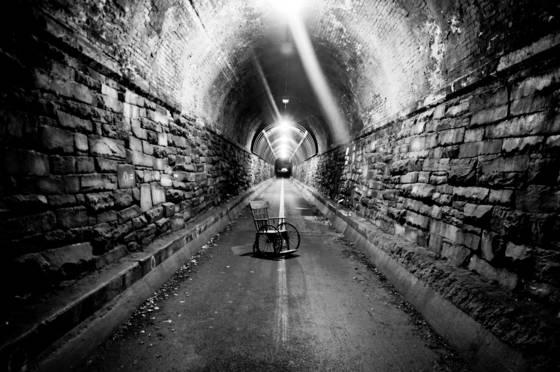 Wilkes street pedestrian tunnel