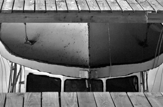 Boat reflection