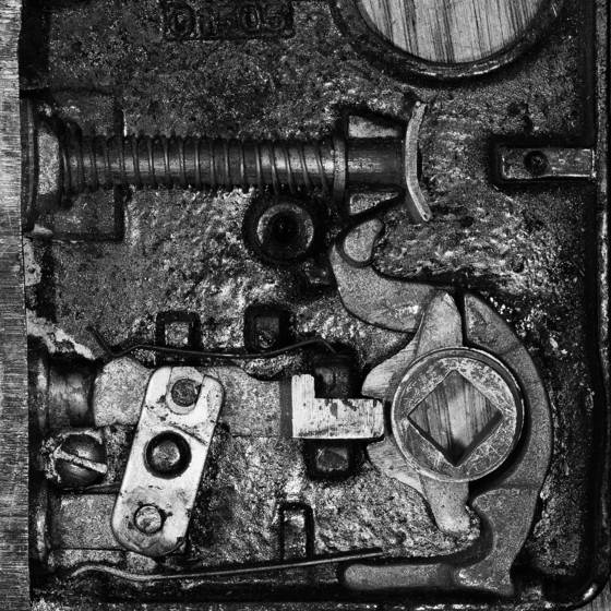 Rh mortise lock