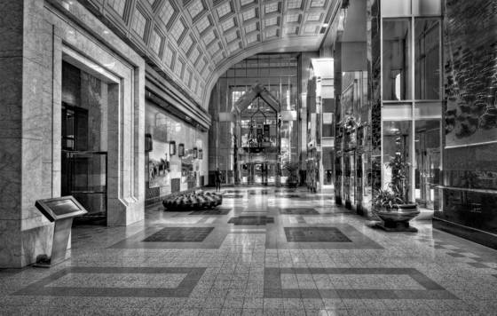 Bankers hall lobby