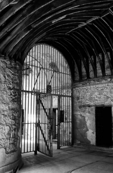Eastern state penitentiary arch