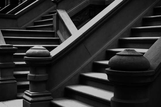 Brownstone steps