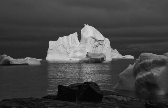 Greenland shore