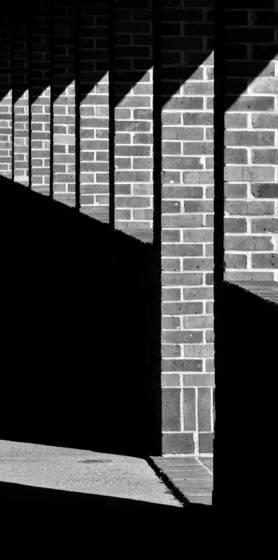 Brick pavillion