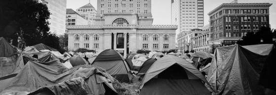 Tent city rising