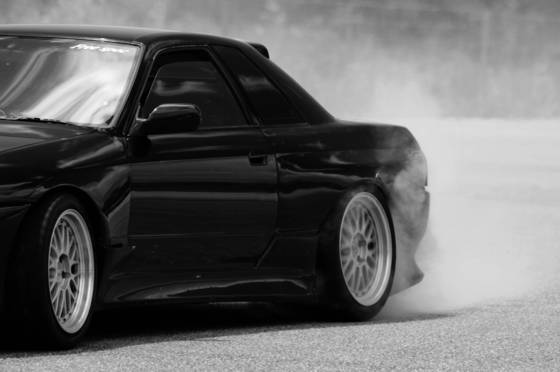 Tire smoke 2