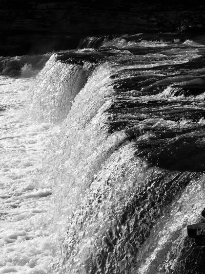 Chrome waterfall