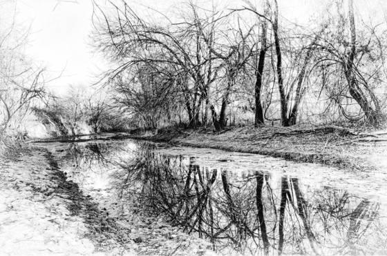 Benbrook stream