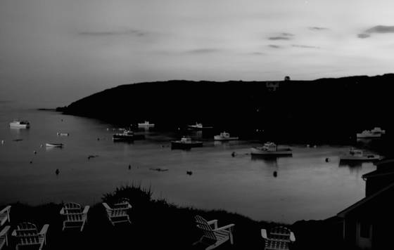 Monhegan harbour