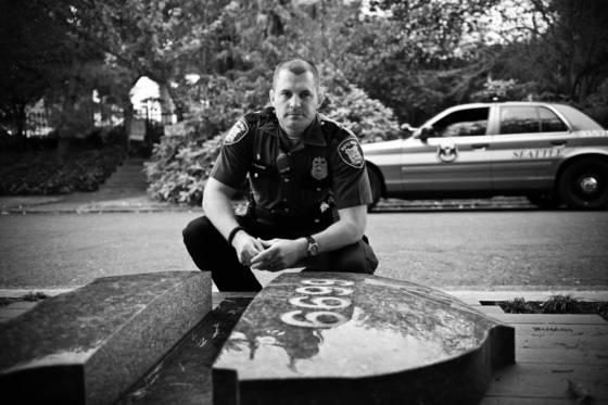 Gone but not forgotten   officer brenton memorial