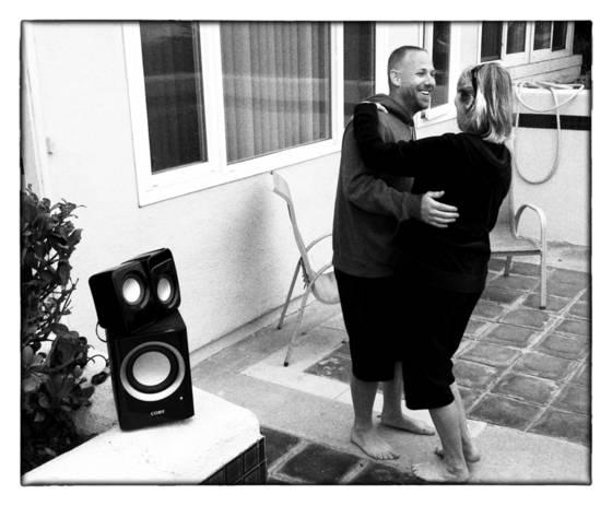 Jan and joey dancing