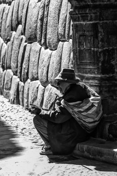 Elderly inca