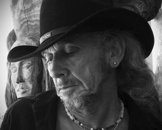 Pensive cowboy