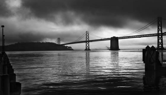 Bay bridge   fery building