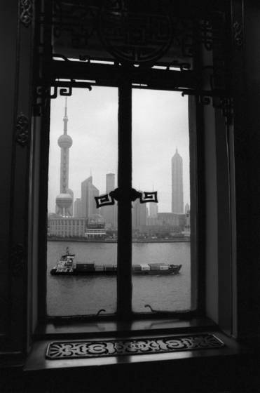 Window on shanghai