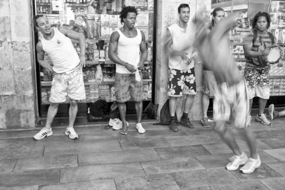 Capoeira in barcelona no