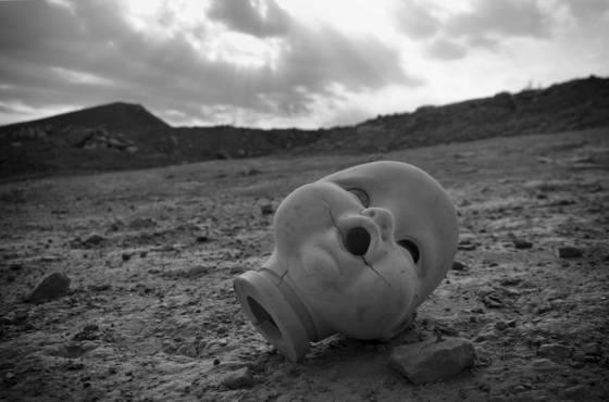 Landfill doll