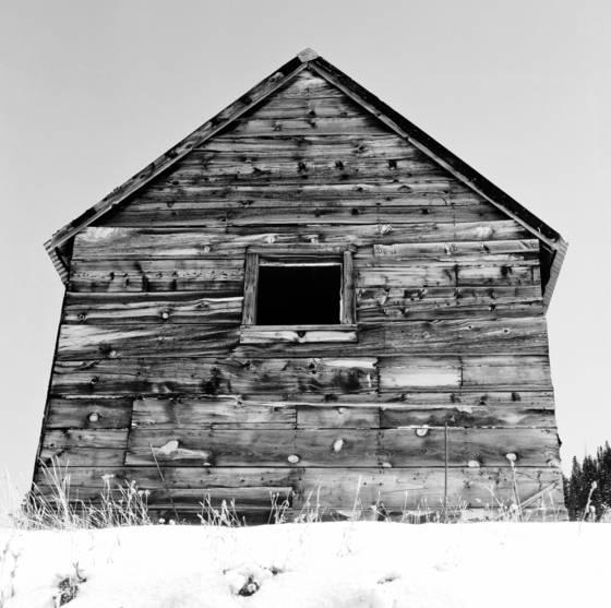Lone miner cabin
