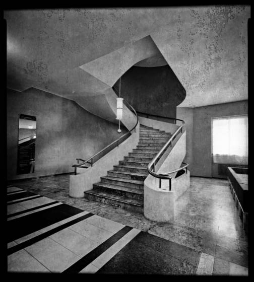 University stairs