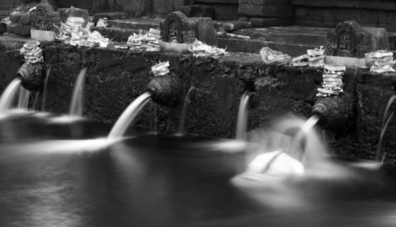 Bathing in sacred waters