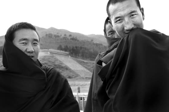 Xiahe monks china 2008