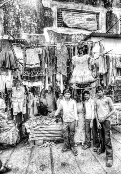 Garment sellers