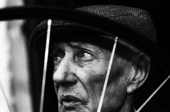 Portrait of the last bicycle repairman i